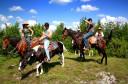 Horse riding group in Velika Plana