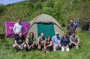 Tented camp training in Velebit