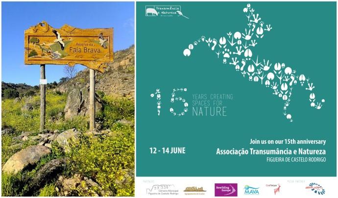Event announcement in Faia Brava Reserve/ Associação Transumância e Natureza (ATN)