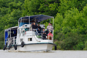 Boating tourism in the Danube Delta