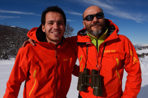 Mountain guides Umberto Esposito and Carlo Vitale