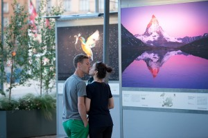 Wild Wonders of Europe outdoor exhibition in Stockholm, 2013