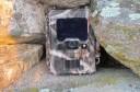 Wildlife camera strategically placed in Côa Valley, Western Iberia, Portugal.