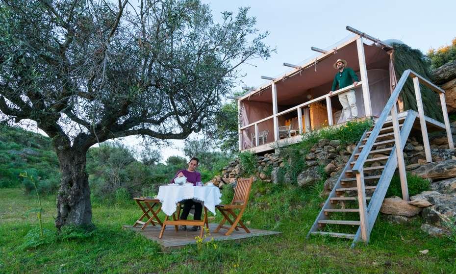 Star Camp, Faia Brava, Côa Valley, Western Iberia, Portugal