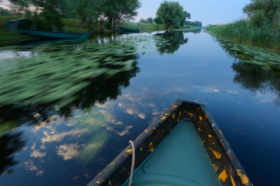 Boat trip, Danube Delta, Romania