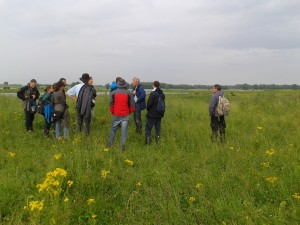 Visit of the participants to Gelderse Poort with Wouter Helmer who spoke about how natural grazing boosts the local economy.