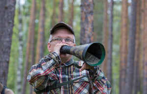 Mikael Suorra, a local Sami, is the founder of Hide&See – a wildlife watching business in Lapland rewilding area.