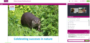 Sharing milestone project achievements at Kempen~Broek - such as the return of the otter - have given local stakeholders a sense of pride in local nature.