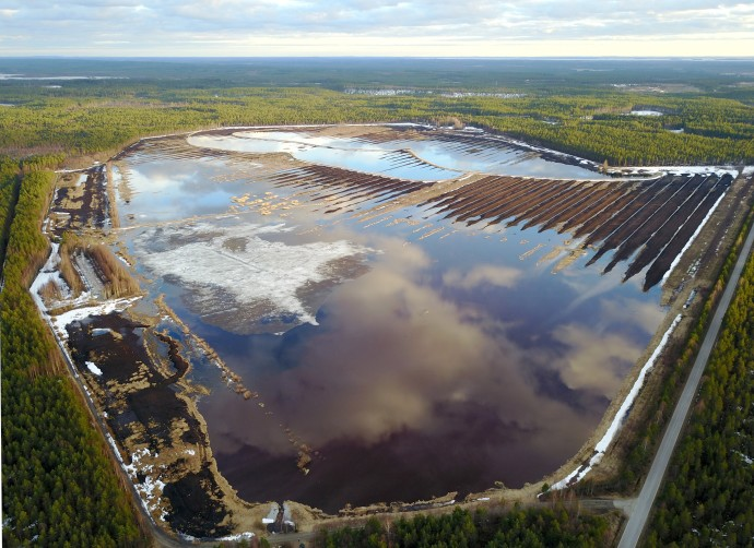 The Linnunsuo wetland is an Important Bird Area (IBA) situated in North Karelia, in the boreal part of Finland.