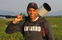 Humberto Tan on a photo mission in Lika Plains, Velebit rewilding area, Croatia.
