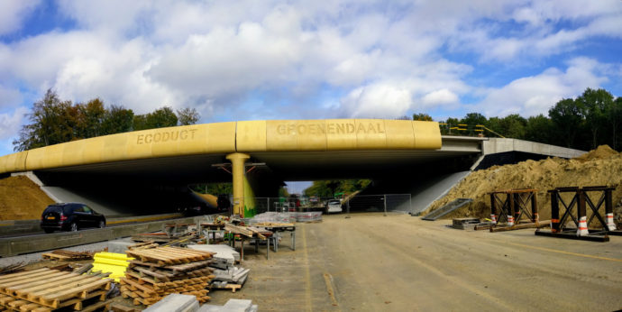 Ecoduct Groenendaal will open this summer, spanning the Brussels Ring Road.